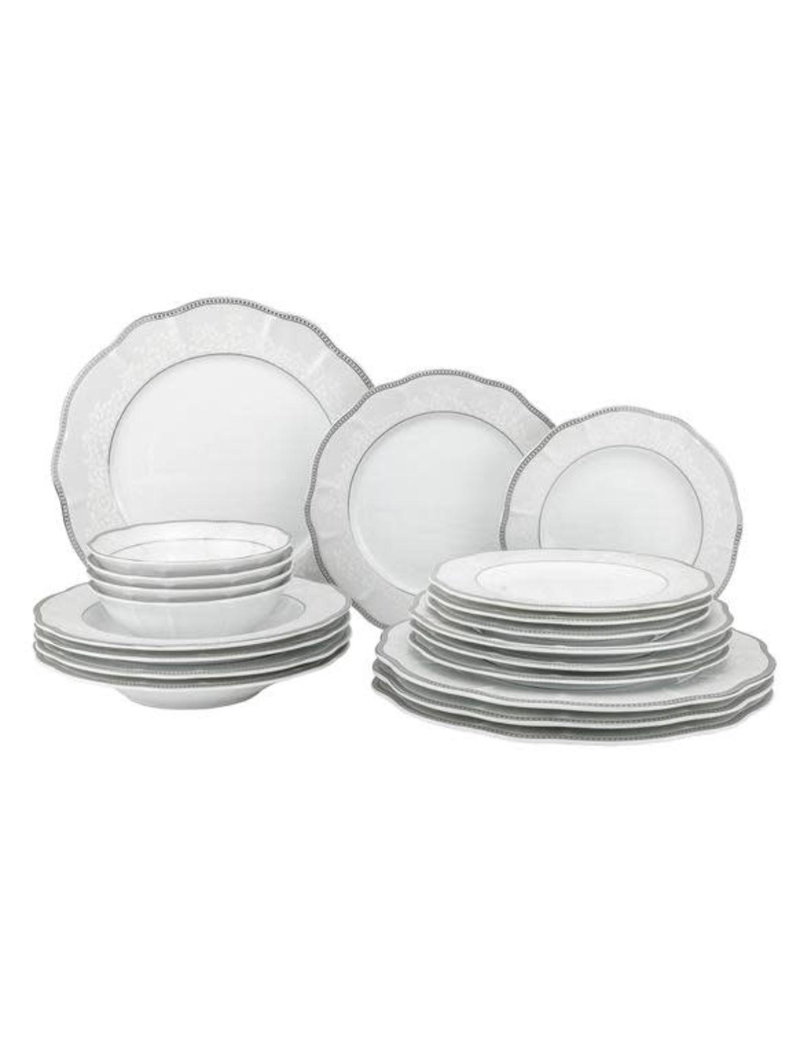 Cantella Dinnerware Service For 4