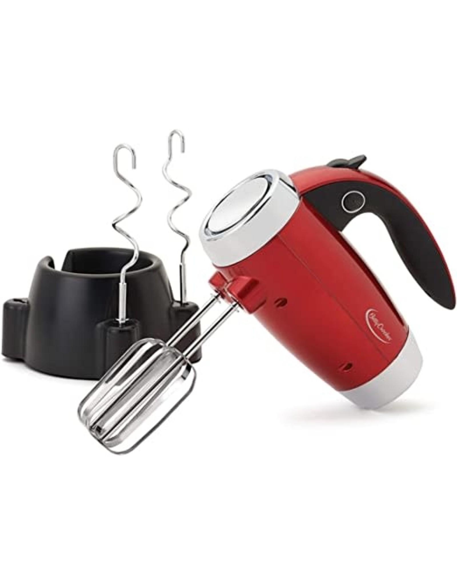 Betty Crocker Hand Mixer Red