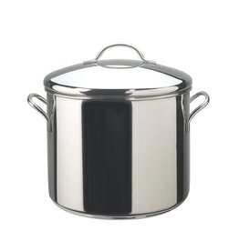 Farberware 12 Qt. Covered Stockpot w/ Stainless Steel Fittings