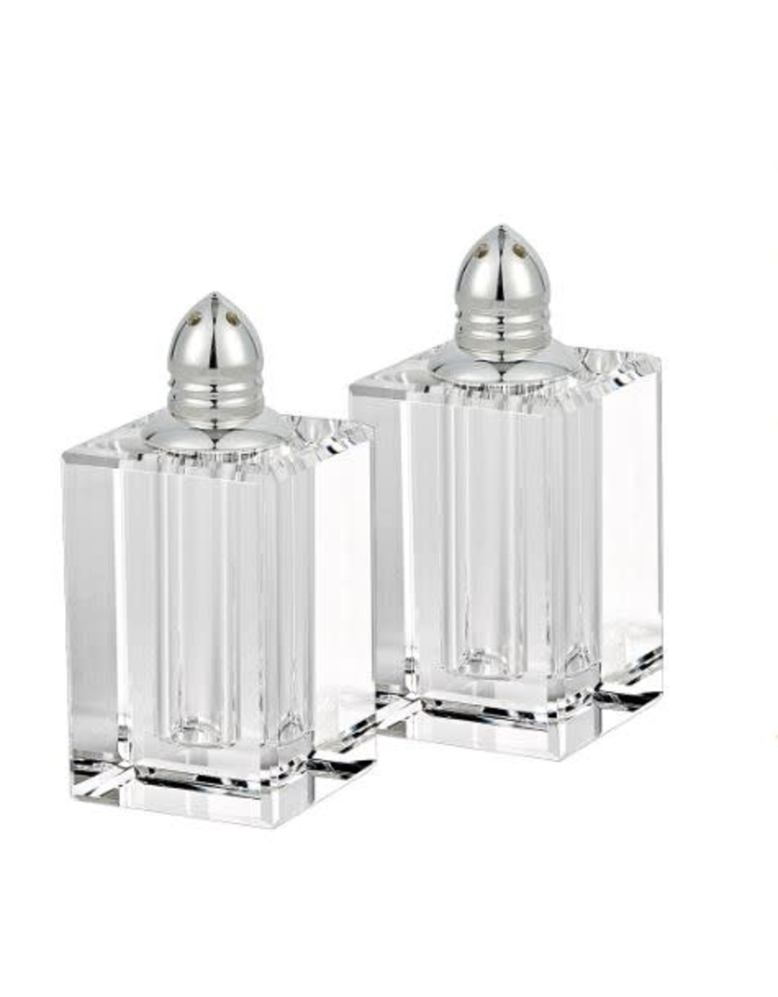 H143P Melania Silver Salt & Pepper Shaker Set