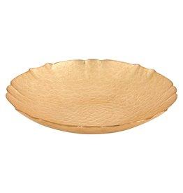 "P256 Victoria 12"" Gold Leaf Bowl"