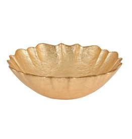 "P255 6"" Victoria Gold Leaf Dip Bowl"