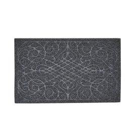 """Grey Victorian Gate Coir Doormat 18x30"""""""