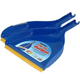 Clip on Dust Pan with Rubber Edge