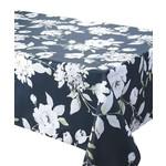 "Dehila Black Stain Resistant Tablecloth 94x58"""