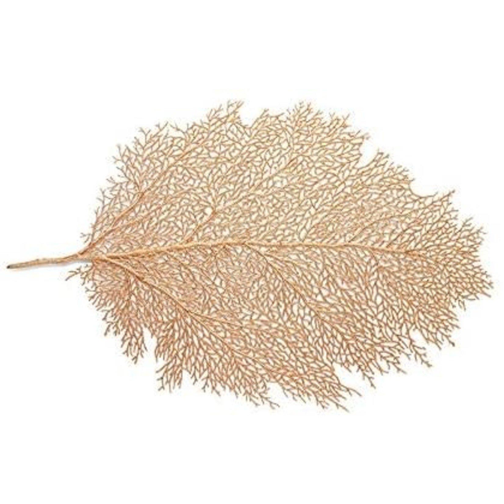 "18"" Gold Leaf Placemat"