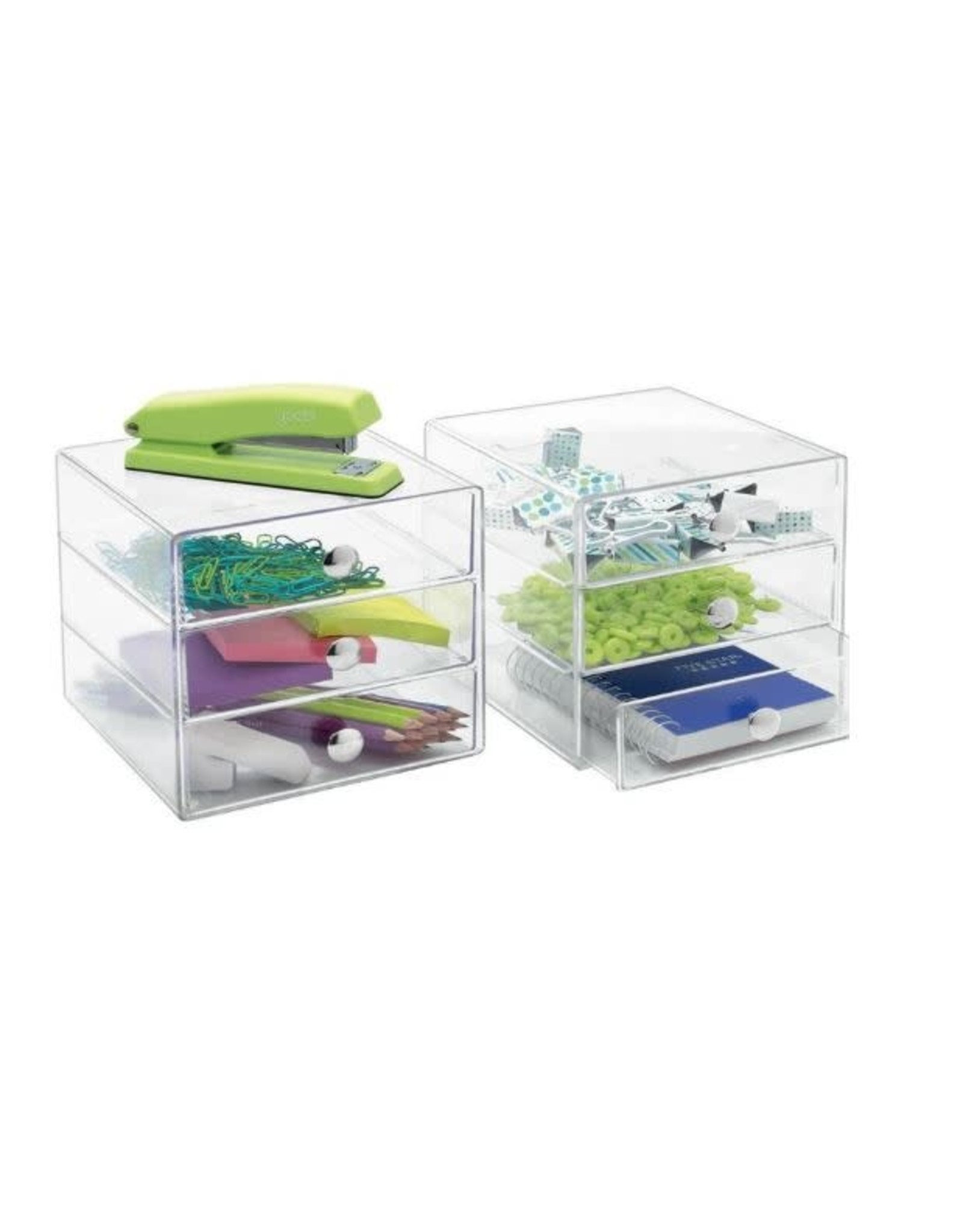 Drawers - 3 Drawer Clear