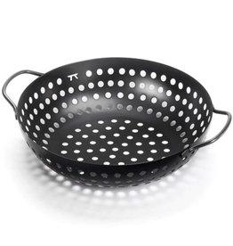 Round Black BBQ Grill Wok