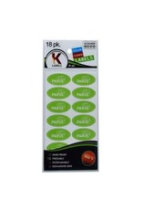Kosher Labels18pk. - Pareve