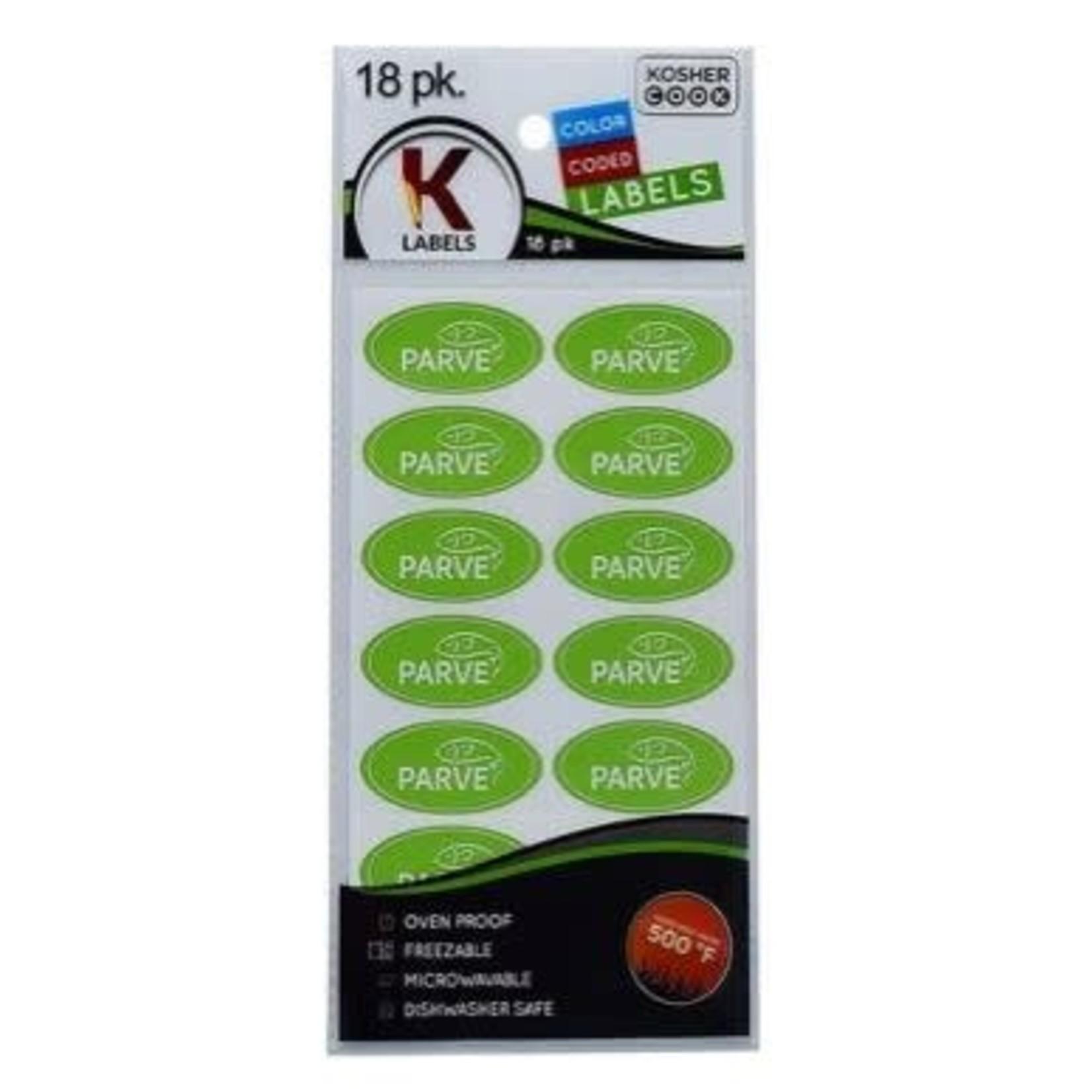 Kosher Labels18pk. - Pareve
