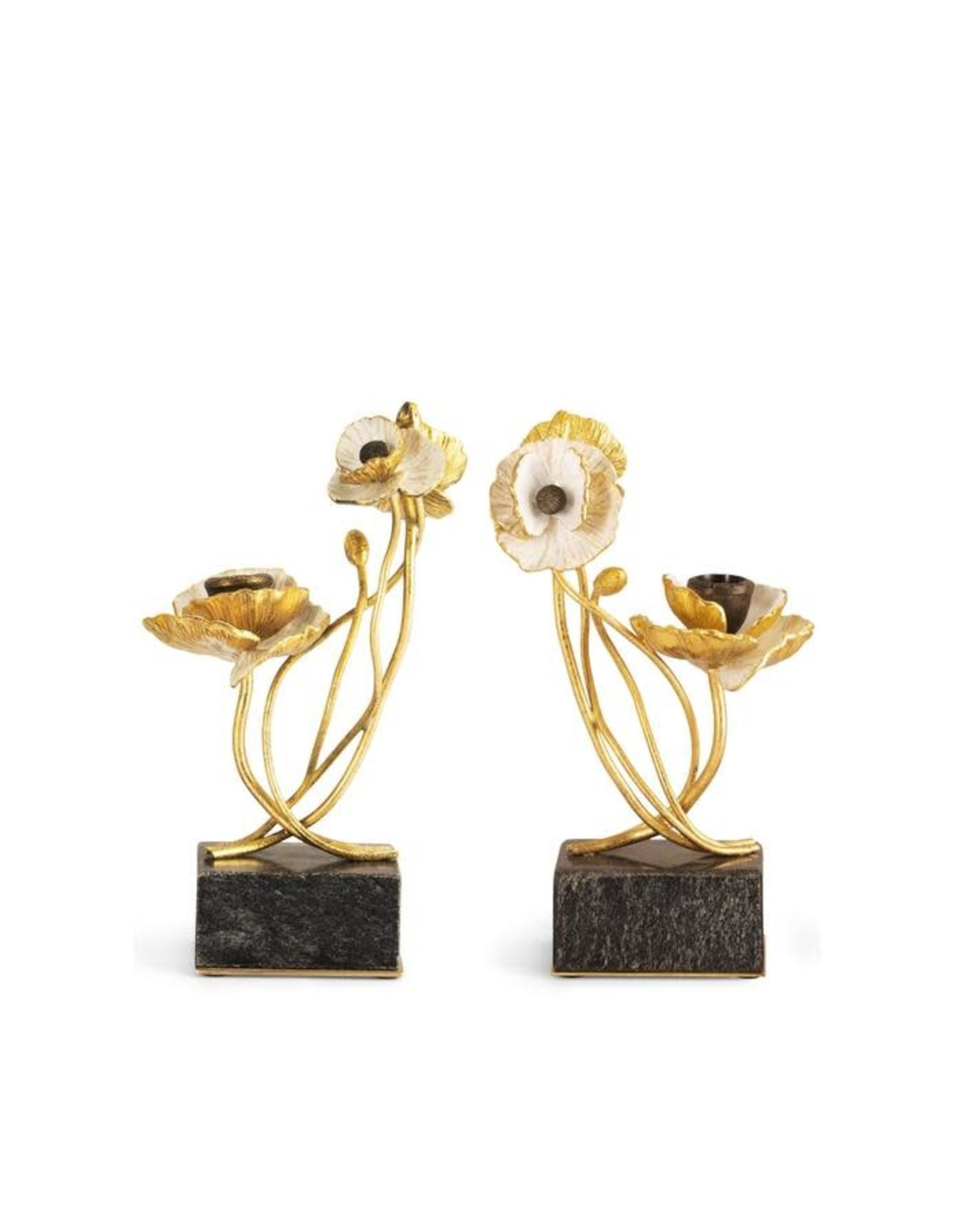 ANEMONE CANDLEHOLDERS (S/2)