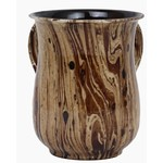 57015 Marble Brown Wash Cup