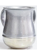 57009 Silver Sparkled Wash Cup