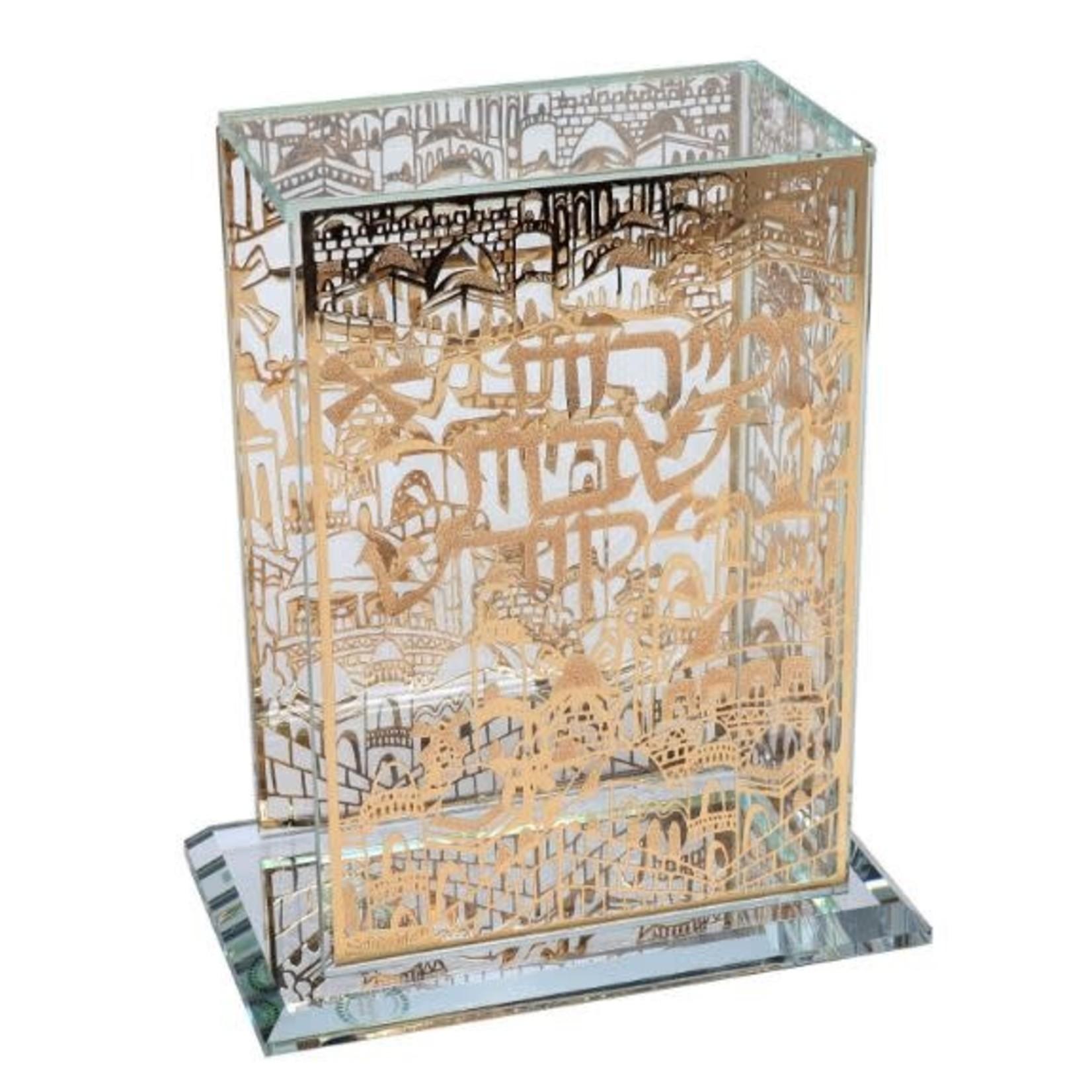 164582 Gold Crystal Jerusalem Zemiroth Holder