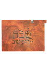 43261 Wooden Wooden Challah Board with Knife
