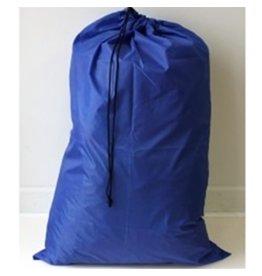 Navy Blue Nylon Laundry Bag