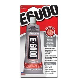 GOOP-E6000 CRAFT GLUE- 3.7oz,CARDED