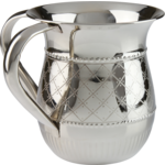 56895 Diamond Design Stainless Steel Wash Cup