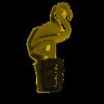 Gold Flamingo Bottle Stopper
