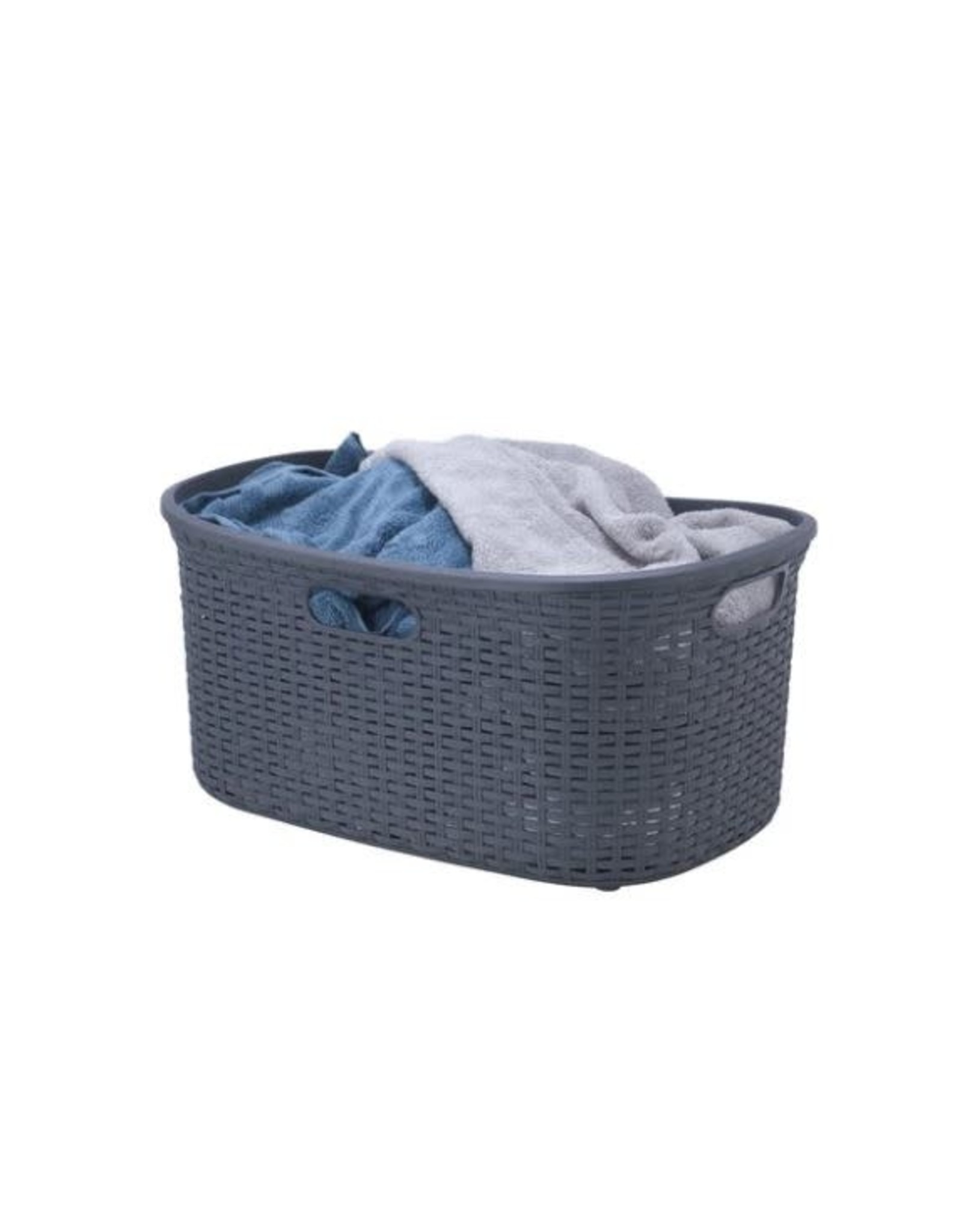 Palm Luxe 1.15 Grey Laundry Basket