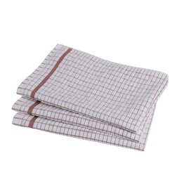 Brown Checkered Dish Towel