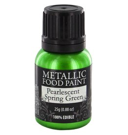 Metallic Food Paint Pearlescent Spring Green