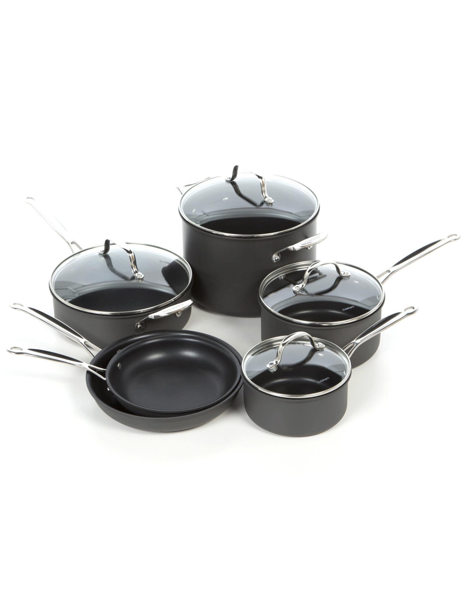 Cuisinart Chef Non-Stick Hard Anodized 10 Piece Pot Set
