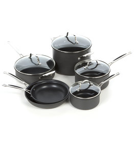 Cuisinart Chef Non-Stick Hard Anodized 10 Piece Pot Set