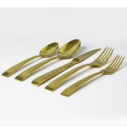 Mali Gold Cutlery Service for 4