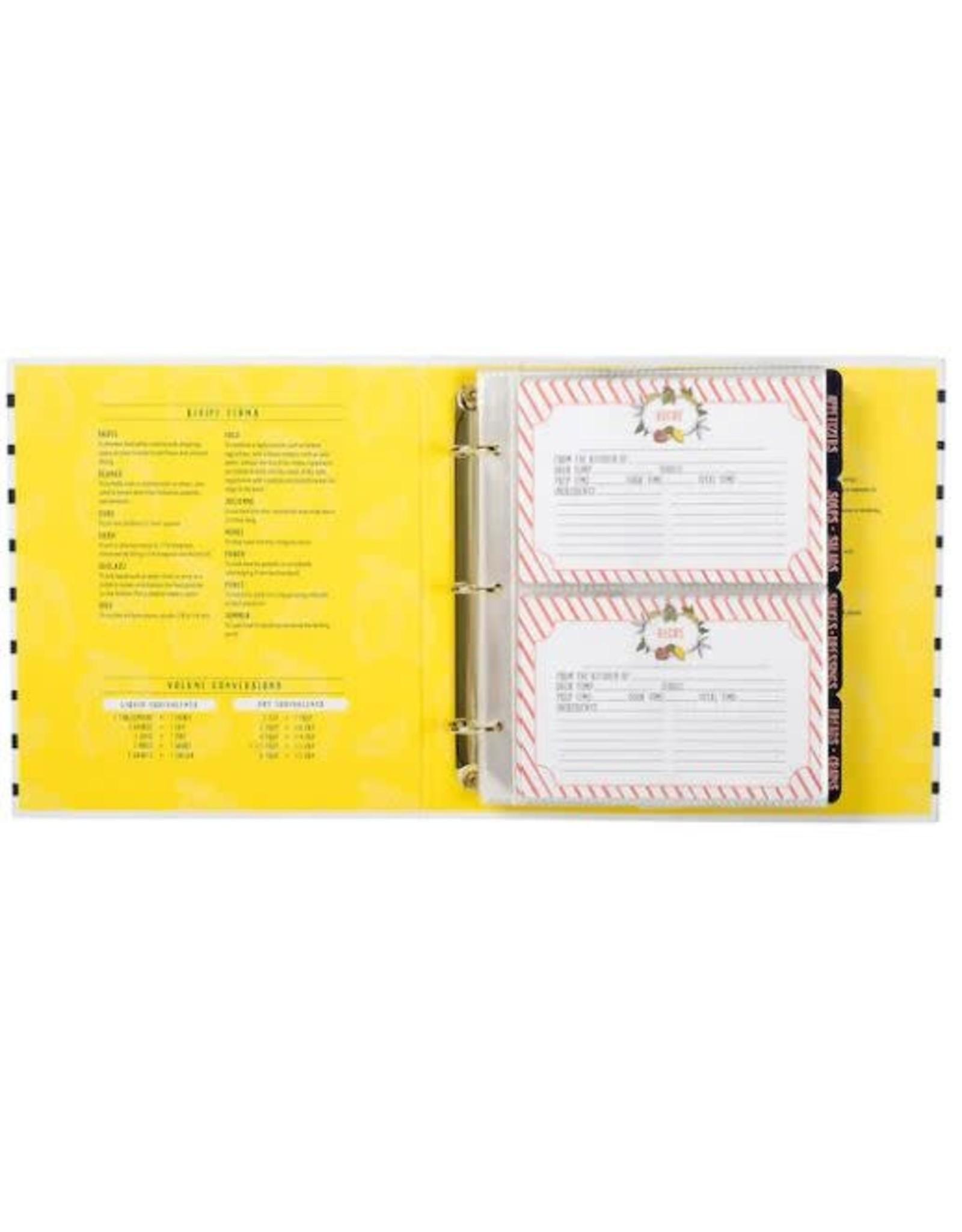 Lemon Drop Recipe Book