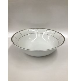 Bernadotte Lines Silver Vegetable Serving Bowl
