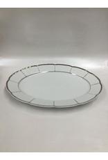 Bernadotte Lines Silver Serving Platter