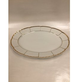 Bernadotte Lines Gold Serving Platter