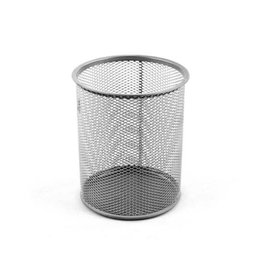 Silver Mesh Medium Pencil Holder