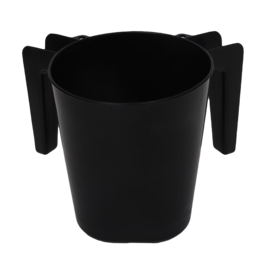 Plastic Black Wash Cup
