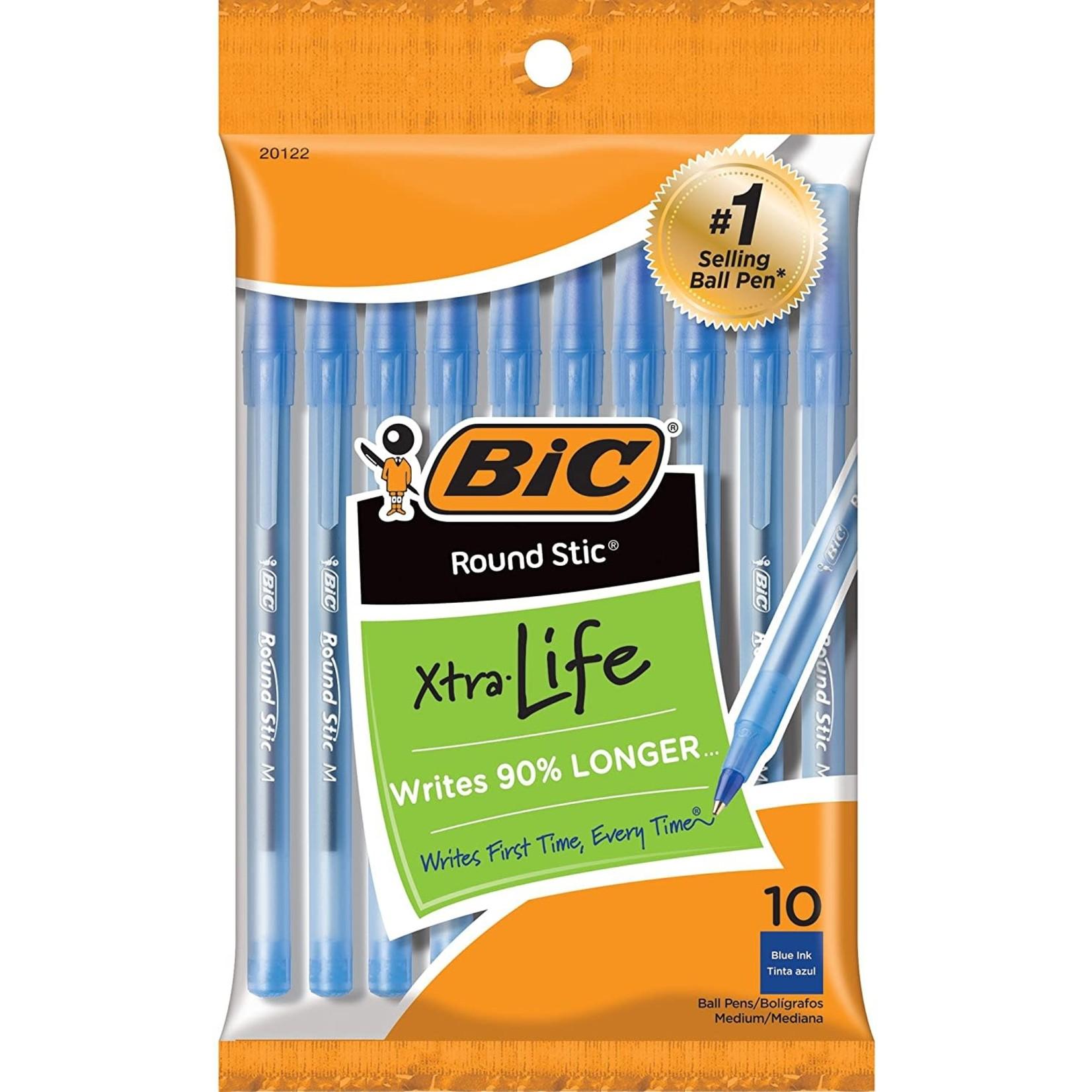 BIC Blue Ball Pen 10 Pck