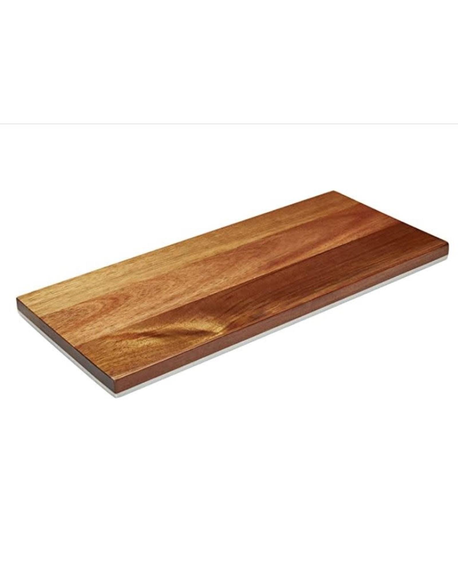 "8x8"" Prep & Serve Wooden & Marble  Board"