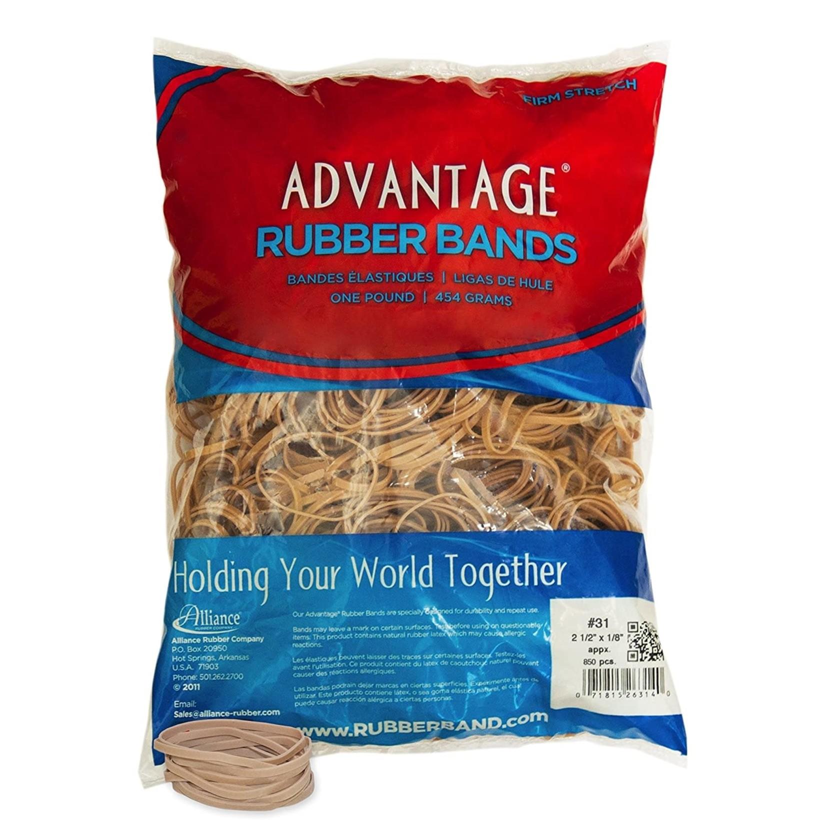 1/4 Lb Rubberbands Bag #31