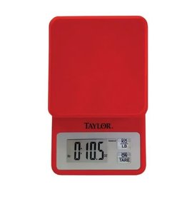 Tarylor Red 11lb Food Scale