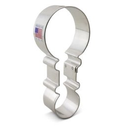 "4.5"" Rattle Cookie Cutter"