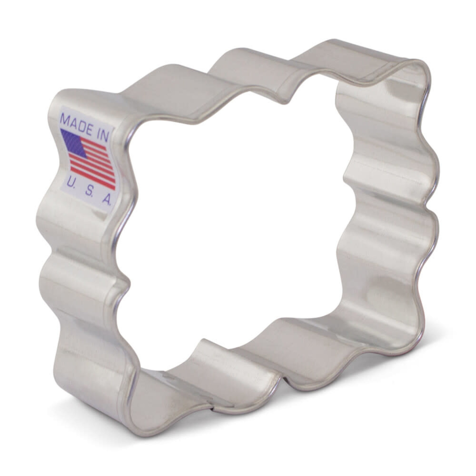 """3"""" Small Plaque Cookie Cutter"""