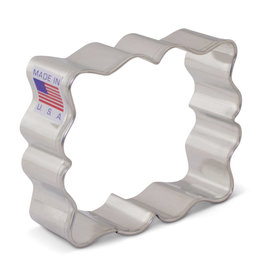 "3"" Small Plaque Cookie Cutter"