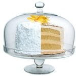 Simplicity Cake Plate with Dome