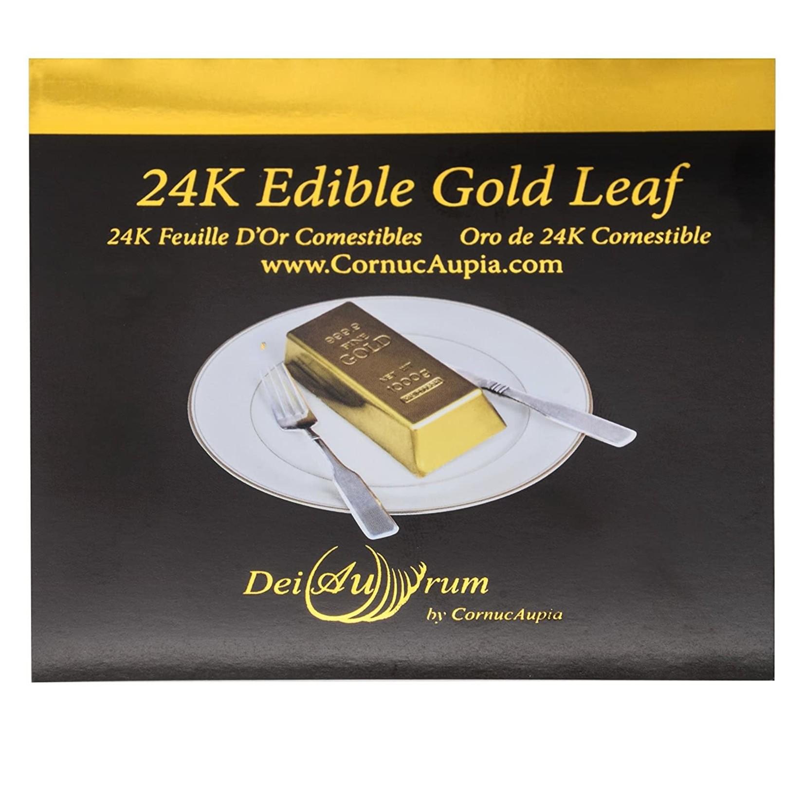 """24K Edible Gold Leaf Booklet Sheets - 3,3/8""""x3,3/8"""