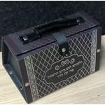 UK56198 Vinyl Esrog Box w/ Silver Print