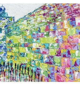 Kotel Sukkah Mural Colored
