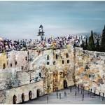 Kotel Jerusalem Sukkah Mural