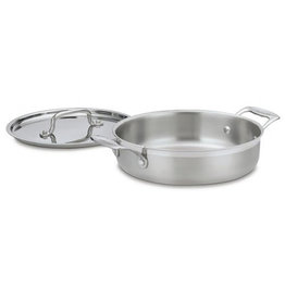 Cuisinart 3 QT Stainless Steel Fish Pot