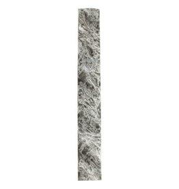 Polyresin Mezuzah 15 Cm- Dark Gray Marble
