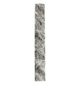 Polyresin Mezuzah 12cm- Gray Marble